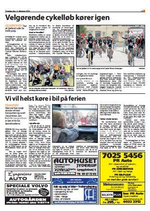 Nordvestnyt og Jyderup Posten 17. februar 2015