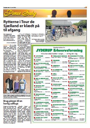 NordvestNyt og Jyderup Posten den 3. juni 2014
